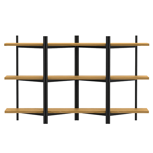 BRERA Shelving Unit - Double